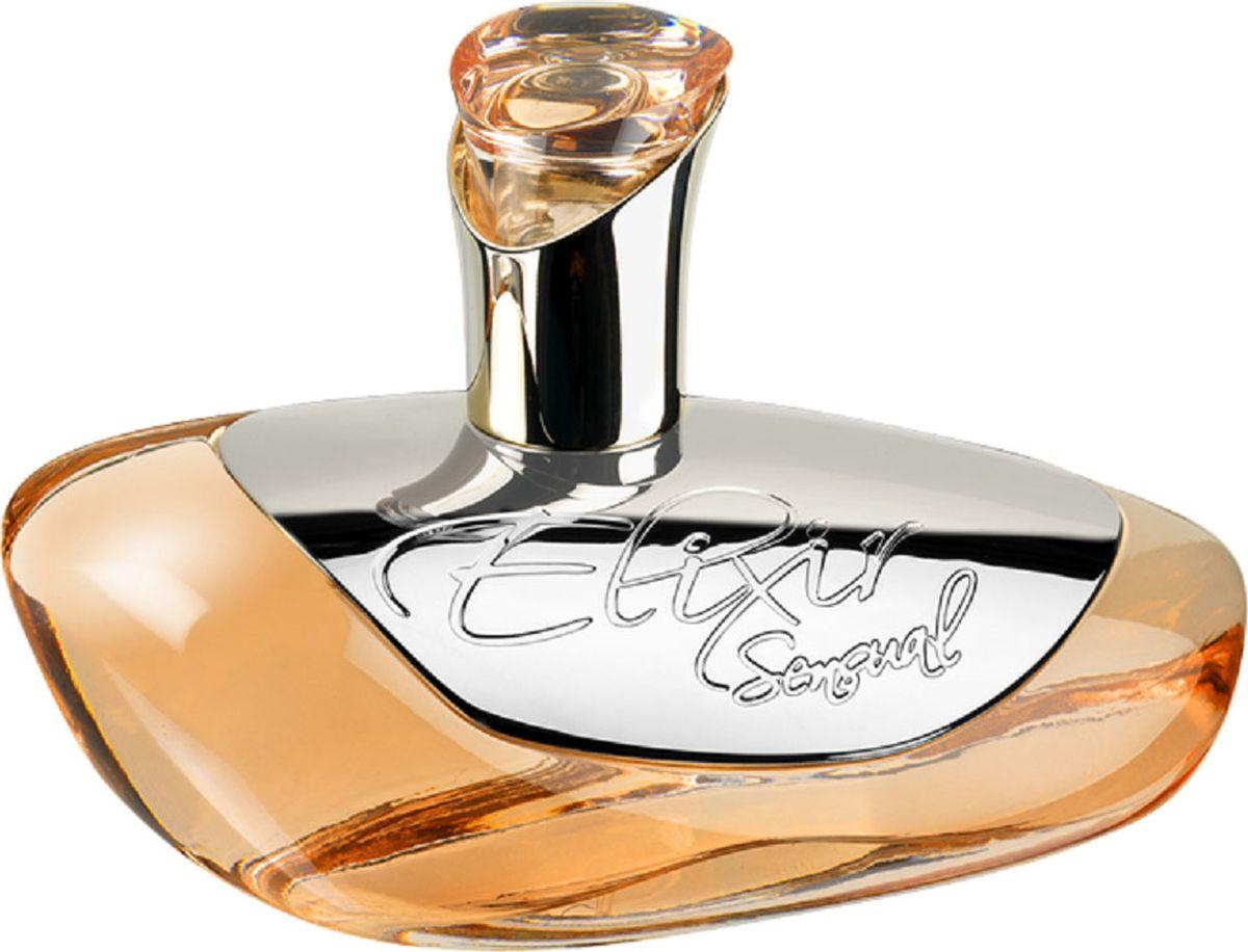Geparlys Парфюмерная вода Elixir Sensual Линии Parfums Johan.B, 85 мл4011700337118Парфюмерная вода Sensuаl Elixir подходит для долгожданных встреч, свиданий, подчеркивая лишь искренность и нежность своей обладательницы. Чувтсвенность, мягкость, чистота и соблазнительность, вот основные черты данного аромата. Основная парфюмерная композиция: роза, мускус, лаванда, иланг-иланг.