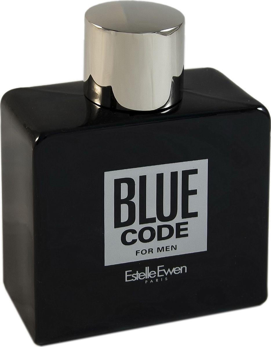 Geparlys Туалетная вода Blue Code men Линии Estelle Ewen, 100 мл4011700902040Стильный древесный фужерный аромат Geparlys Blue Code который отличается неповторимым звучанием, предназначен для сильных и смелых мужчин. Парфюмерная формула излучает энергетику мужественности и стойкости. Основная парфюмерная композиция: имбирь, жасмин, ладан, роза, ветивер, пачули.