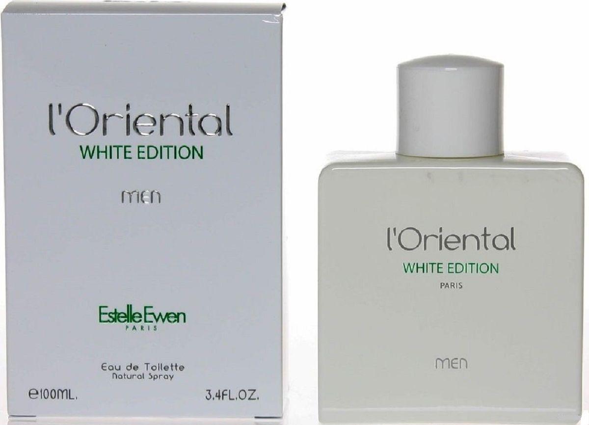 Geparlys Туалетная вода LOriental White Edition men Линии Estelle Ewen, 100 мл1301210Белоснежное издание LOriental White Edition говорит о самом сакральном, белом цвете, который по праву считается цветом, который рождает все остальные цвета.