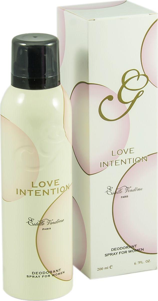 Geparlys Парфюмированный дезодорант для женщин Deo love Intention линии Parfums Estelle Vendome, 200 мл01.00.15.710920Цветочный, умеренно горький. Основная парфюмерная композиция: магнолия, амбра, мускус, лотос.