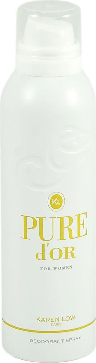 Geparlys Парфюмированный дезодорант для женщин Deo Pure Dior линии Karen Low , 200 млAL-83734554Цветочный, легкий. свежий. Основная парфюмерная композиция: лепестки могнолии, пиона, лотоса, красное яблоко.