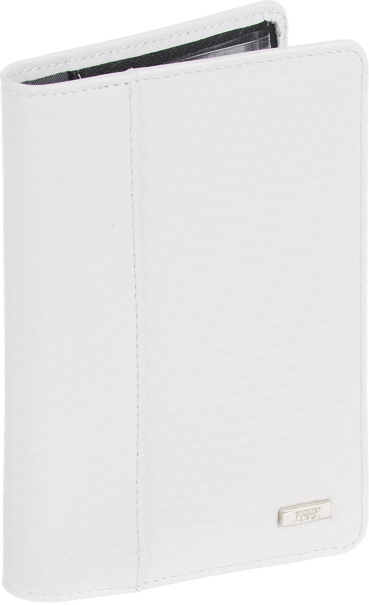 Обложка для автодокументов женская Esse Page auto, цвет: белый, черный. GPGA00-000000-D8303O-K100KW063-000061Обложка с закругленными углами из натуральной кожи. Внутри 3 прорезных кармана для карт, 2 открытых кожаных кармана. Пластиковый блок (6 карманов) позволяет рационально разместить все необходимые документы, в т. ч. страховку и доверенность
