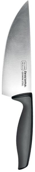 Нож кулинарный Tescoma Precioso, длина лезвия 15 см881228Кулинарный нож Tescoma Precioso идеально подходит для профессионального и домашнего использования. Лезвия выполнено из высококачественной немецкой нержавеющей стали и имеет основание в виде V-профиля. Нож оснащен эргономической ручкой из пластика с противоскользящим покрытием.Можно мыть в посудомоечной машине. Длина лезвия: 15 см.Общая длина ножа: 28 см.