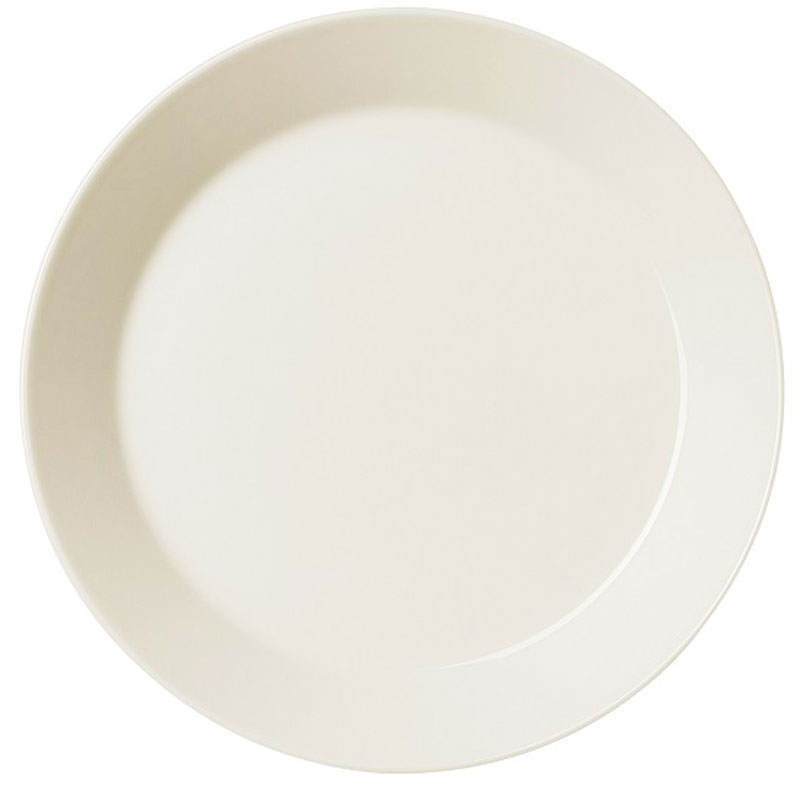 Тарелка Iittala Teema, цвет: белый, диаметр 21 см1005917