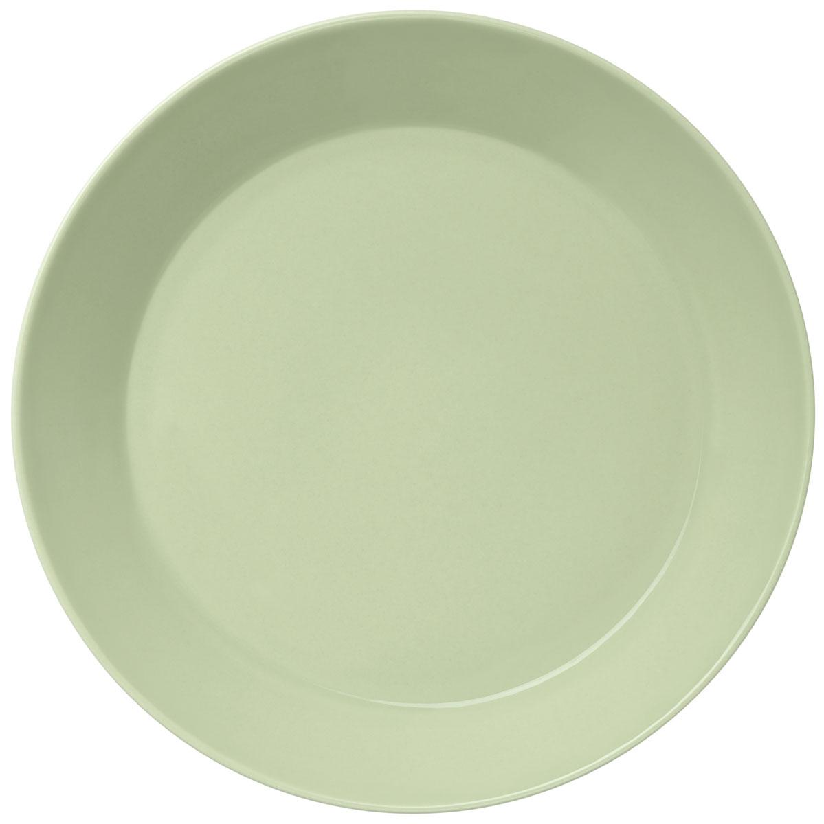 Тарелка Iittala Teema, цвет: зеленый, диаметр 21 см1005970
