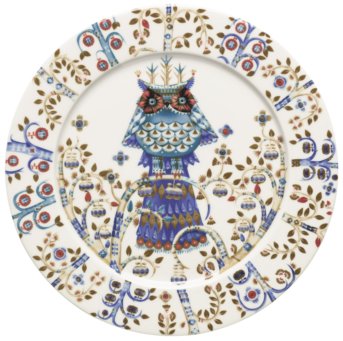 Тарелка Iittala Taika, цвет: белый, диаметр 27 см1011637