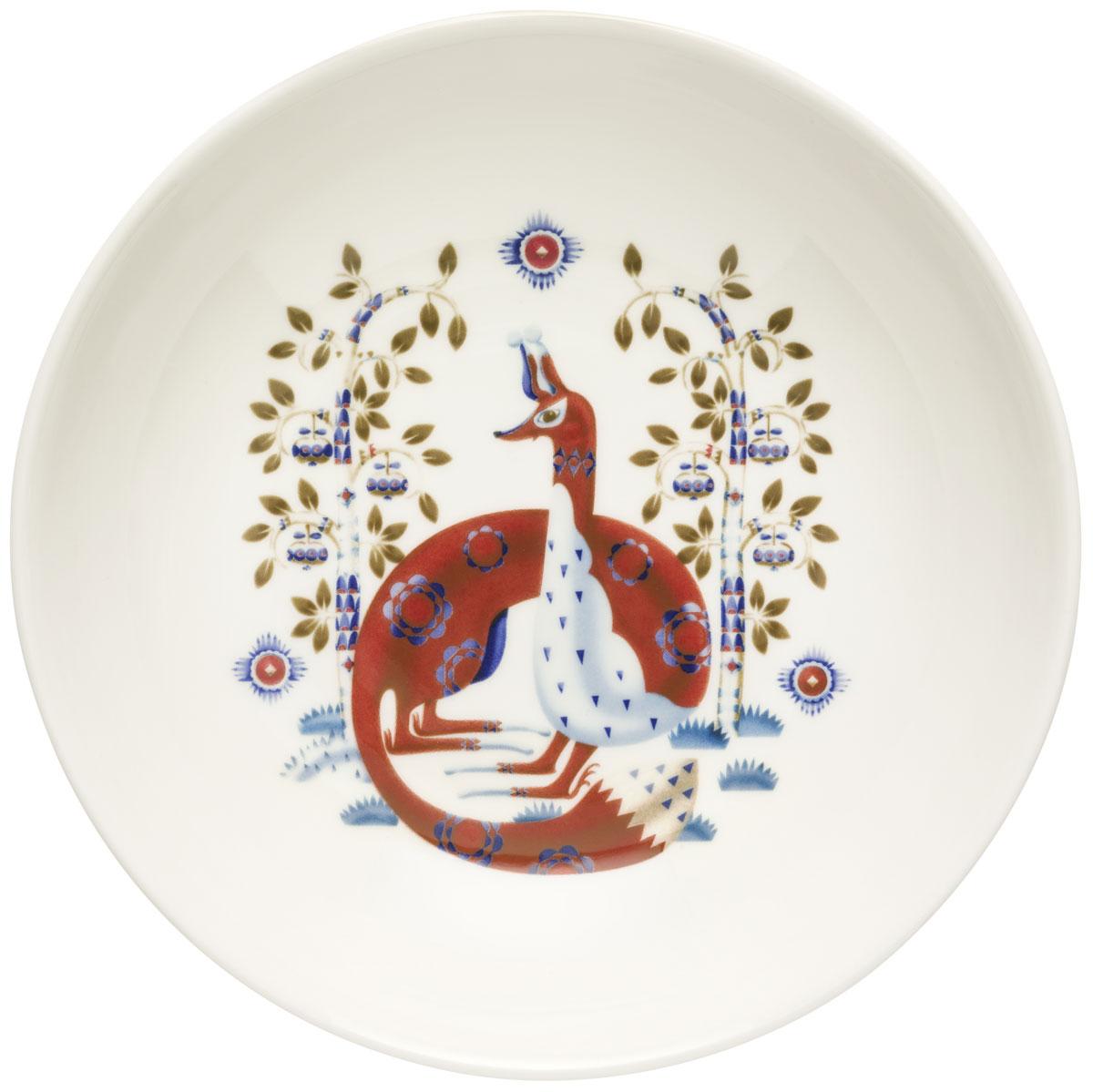 Тарелка глубокая Iittala Taika, цвет: белый, диаметр 22 см1011653