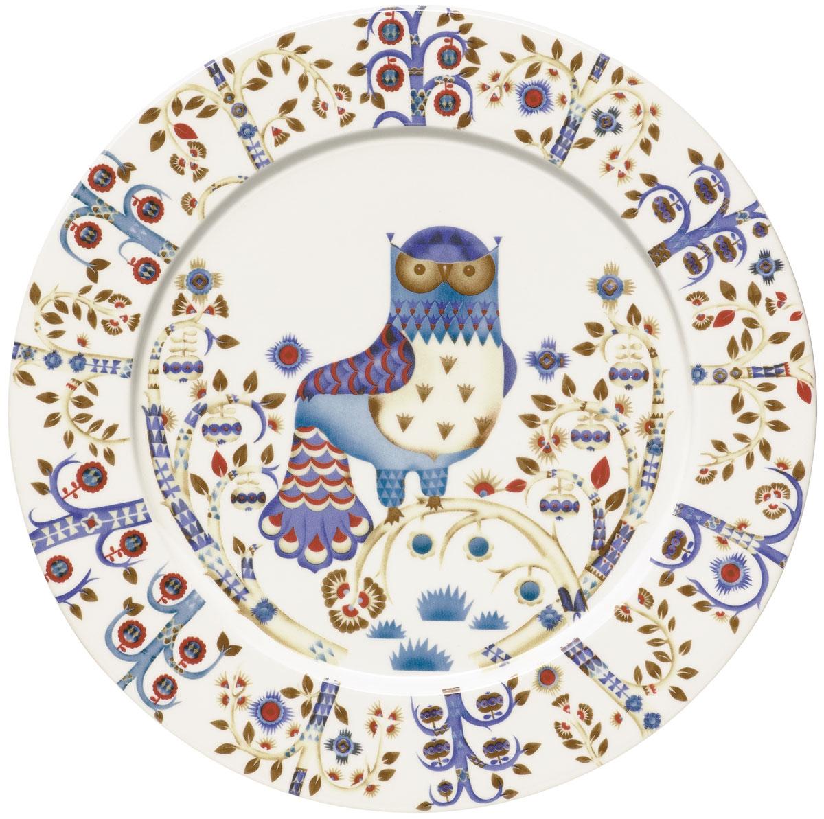 Тарелка Iittala Taika, цвет: белый, диаметр 30 см1012436