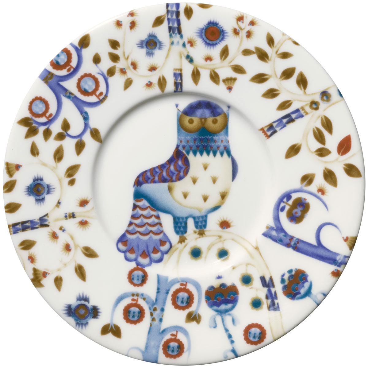 Блюдце Iittala Taika, цвет: белый, диаметр 15 см1012471