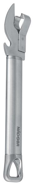 Нож консервный Nadoba Karolina26584Высокая прочность и долговечность в использовании. Зеркальная полировка рабочих частей. Высококачественная нержавеющая сталь.
