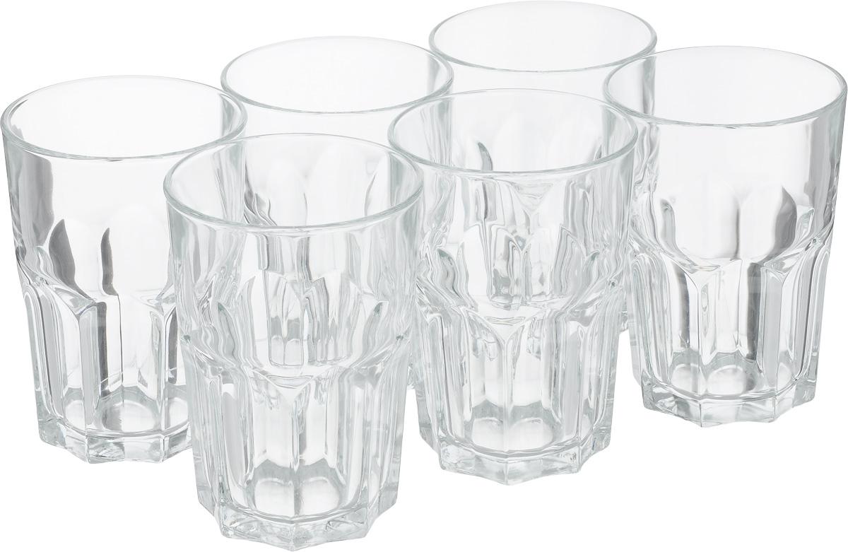 Набор стаканов Luminarc Новая Америка, 350 мл, 6 штVT-1520(SR)Набор Luminarc Новая Америка состоит из 6 высоких стаканов, выполненных из высококачественного стекла. Изделия подходят для сока, воды, лимонада и других напитков. Такой набор станет прекрасным дополнением сервировки стола, подойдет для ежедневного использования и для торжественных случаев. Можно мыть в посудомоечной машине.Объем стакана: 350 мл.Высота стакана: 12 см.Диаметр стакана (по верхнему краю): 8,4 см.