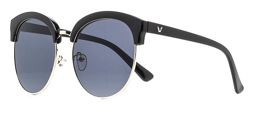 Очки солнцезащитные женские Vitta pelle, цвет: черный. 1301-2017-5575BM8434-58AEСтепень защиты от ультрафиолетовых лучей - 400UV.