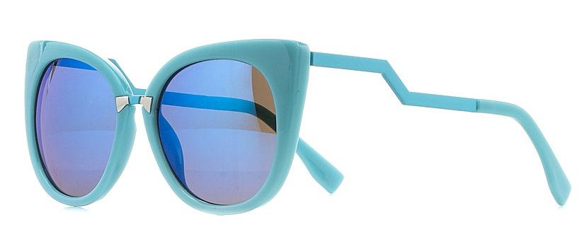 Очки солнцезащитные женские Vitta pelle, цвет: голубой, синий. 1301-2017-5577INT-06501Степень защиты от ультрафиолетовых лучей - 400UV.