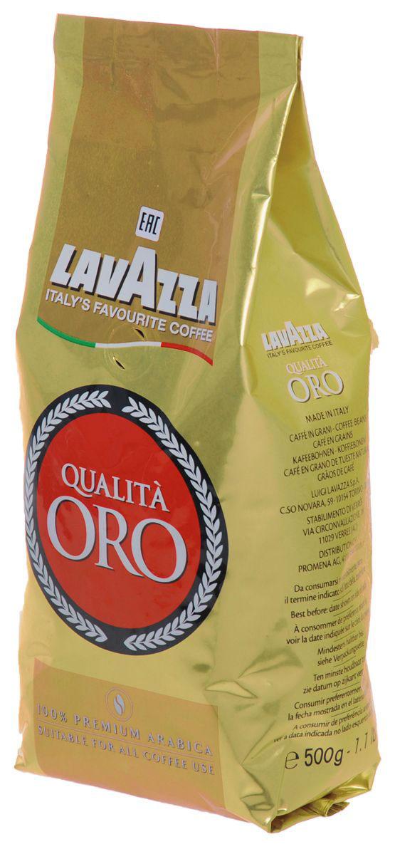 Lavazza Qualita Oro кофе в зернах, 500 г1936Lavazza Qualita Oro кофе в зернах премиум класса. отличающийся незабываемым ароматом. В 1956 году Луиджи Лавацца представил идеальный итальянский эспрессо, смесь которого до сих пор передается из поколения в поколение и числится в списке фаворитов любителей кофе. Для кофе Lavazza Qualita Oro используются только лучшие бобы, тщательно отобранные специалистами компании. Зерна арабики, произрастающие в Центральной Америке, обеспечивают фруктовый и цветочный вкус, а зерна из Бразилии с привкусом солода и меда создают уникальное сочетание, такое сладкое, ароматное и просто неотразимое.