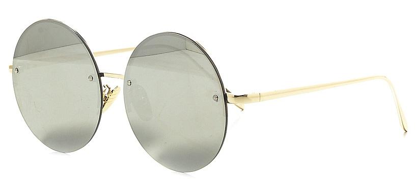Очки солнцезащитные женские Vitta pelle, цвет: зеркальный. 2802-2017-807INT-06501Степень защиты от ультрафиолетовых лучей - 400UV.