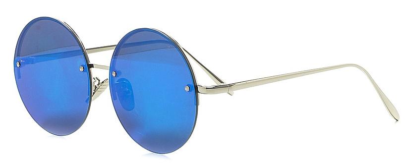 Очки солнцезащитные женские Vitta pelle, цвет: синий. 2802-2017-807BM8434-58AEСтепень защиты от ультрафиолетовых лучей - 400UV.