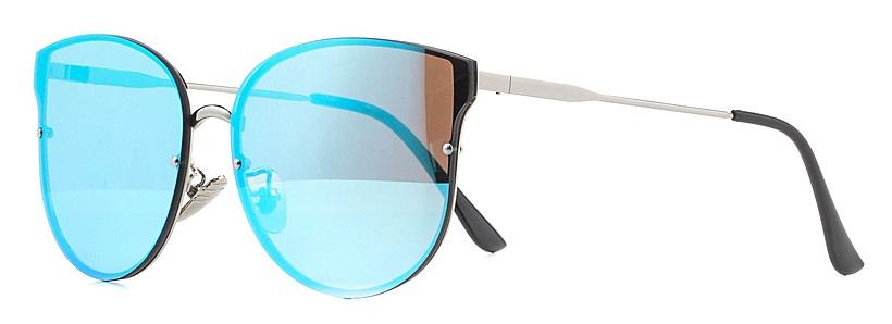 Очки солнцезащитные женские Vitta pelle, цвет: голубой. 2802-2017-820BM8434-58AEСтепень защиты от ультрафиолетовых лучей - 400UV.