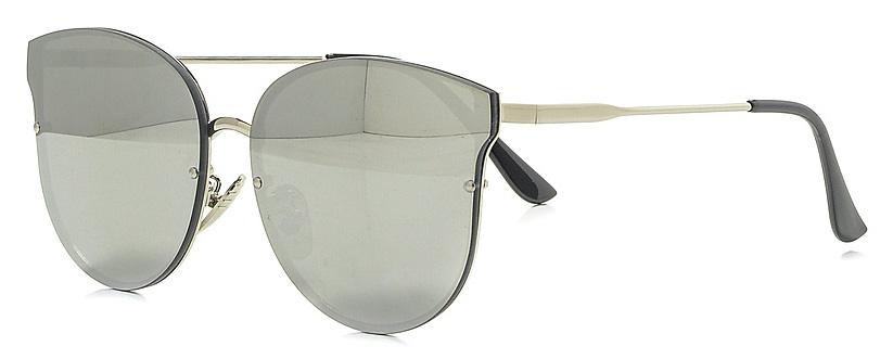 Очки солнцезащитные женские Vitta pelle, цвет: зеркальный. 2802-2017-820BM8434-58AEСтепень защиты от ультрафиолетовых лучей - 400UV.