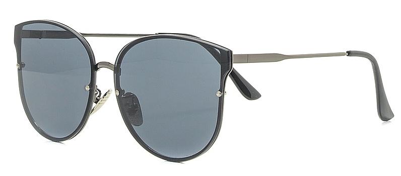 Очки солнцезащитные женские Vitta pelle, цвет: черный. 2802-2017-820INT-06501Степень защиты от ультрафиолетовых лучей - 400UV.