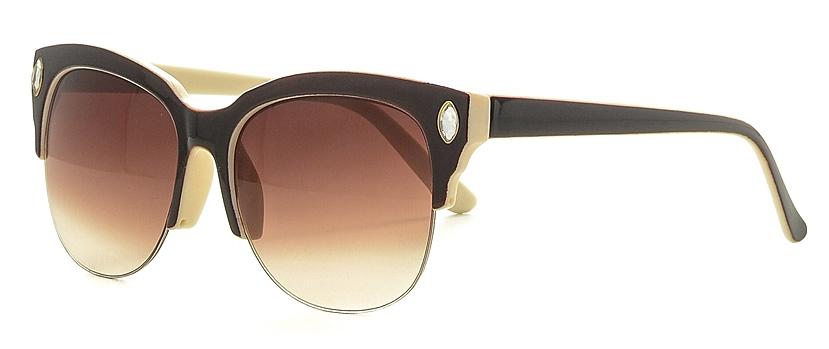 Очки солнцезащитные женские Vitta pelle, цвет: коричневый. 2802-2017-882INT-06501Степень защиты от ультрафиолетовых лучей - 400UV.