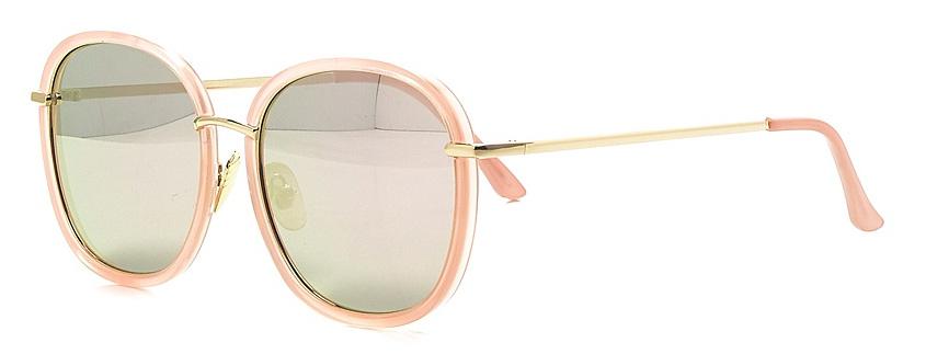 Очки солнцезащитные женские Vitta pelle, цвет: розовый. 2802-2017-882SARMA норка С030-1Степень защиты от ультрафиолетовых лучей - 400UV.