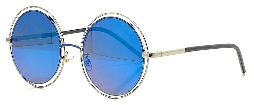 Очки солнцезащитные женские Vitta pelle, цвет: синий. 1301-2017-9351900671-5605Степень защиты от ультрафиолетовых лучей - 400UV.