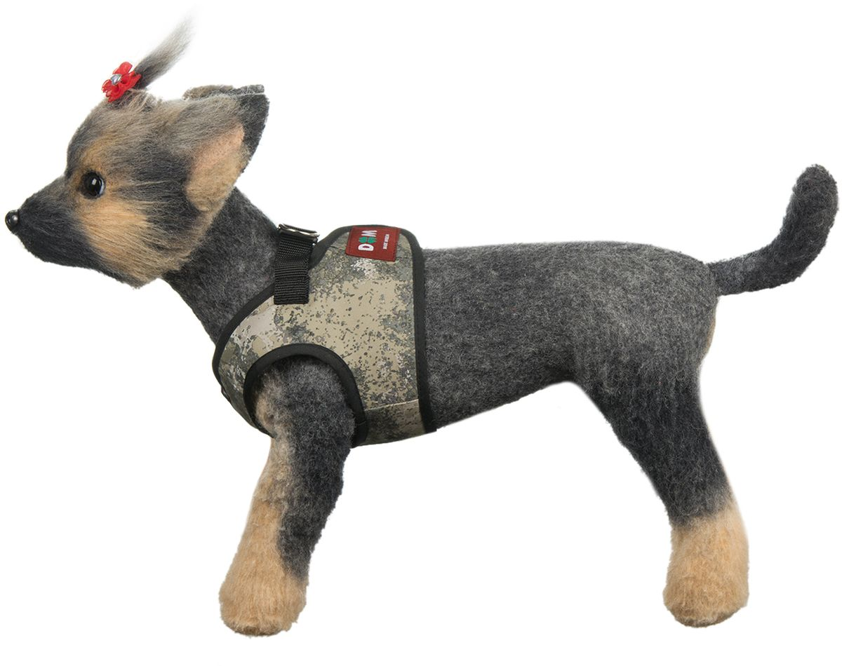 Шлейка для собак Dogmoda Active, цвет: серый, бежевый. Размер 4 (XL)DM-160289-4Шлейка-жилет для собак Active предназначена для мелких и средних пород собак. В отличие от ошейника, она бережно охватывает шею и грудь питомца, не пережимая тело. Движения животного при этом не скованы, а наличие самой шлейки практически не ощущается. Изготовлена она из водооталкивающего полиэстера. Внутренний слой шлейки имеет сетчатую структуру. Мягкая ткань делает прогулки домашнего питомца комфортными и легкими, позволяет почувствовать свободу движения. Шлейка сделана в форме жилета, и имеет два вида застёжки - липучка, с помощью которой можно отрегулировать объем, и фастекс для крепления поводка. Шлейка подойдет как для девочек, так для мальчиков.