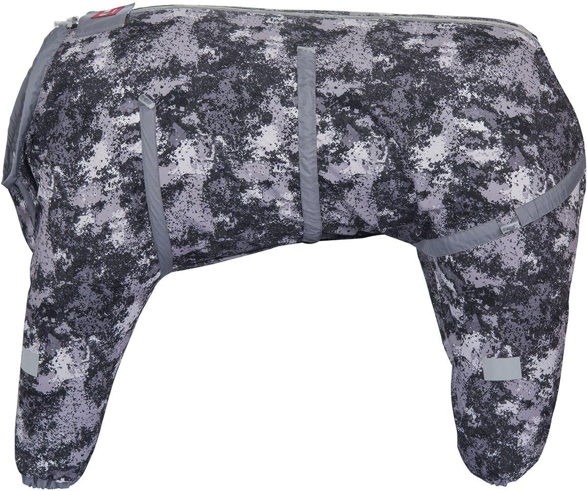 Комбинезон для собак Dogmoda  Doggs Active , для мальчика, цвет: серый. Размер 70 - Одежда, обувь, украшения