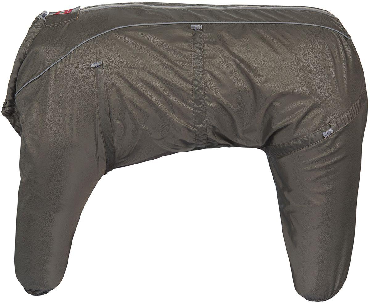 Комбинезон для собак Dogmoda Doggs. Лайт, для мальчик, №42 Mini. DM-1603200120710DOGMODA представляет новинку в коллекции DOGGS- Лайт . Комбинезон изготовлен из водоотталкивающей и ветрозащитной ткани , без подкладки, его можно одевать как и в дождливую так и в сухую погоду, защищая питомца от грязи и пыли. Главная особенность моделей DOGGS – четыре затяжки-фиксатора, позволяющие одежде идеально садиться по фигуре, даже если она не является стандартной. Размер комбинезона DOGGS соответствует длине спины от холки до хвоста. спина 42 шея 54 грудь 76 Породы: вельш-корги, такса стандартная. Ваша собака все еще не любит одеваться? Познакомьте ее с DOGGS!-Облегчающий процесс надевания и носки;-ничто не сковывает и не ограничивает свободу движений питомца;-одежда плотнее прилегает к телу и идеально садиться по фигуре;-полностью закрывается доступ сквознякам, холодному воздуху и влаге.