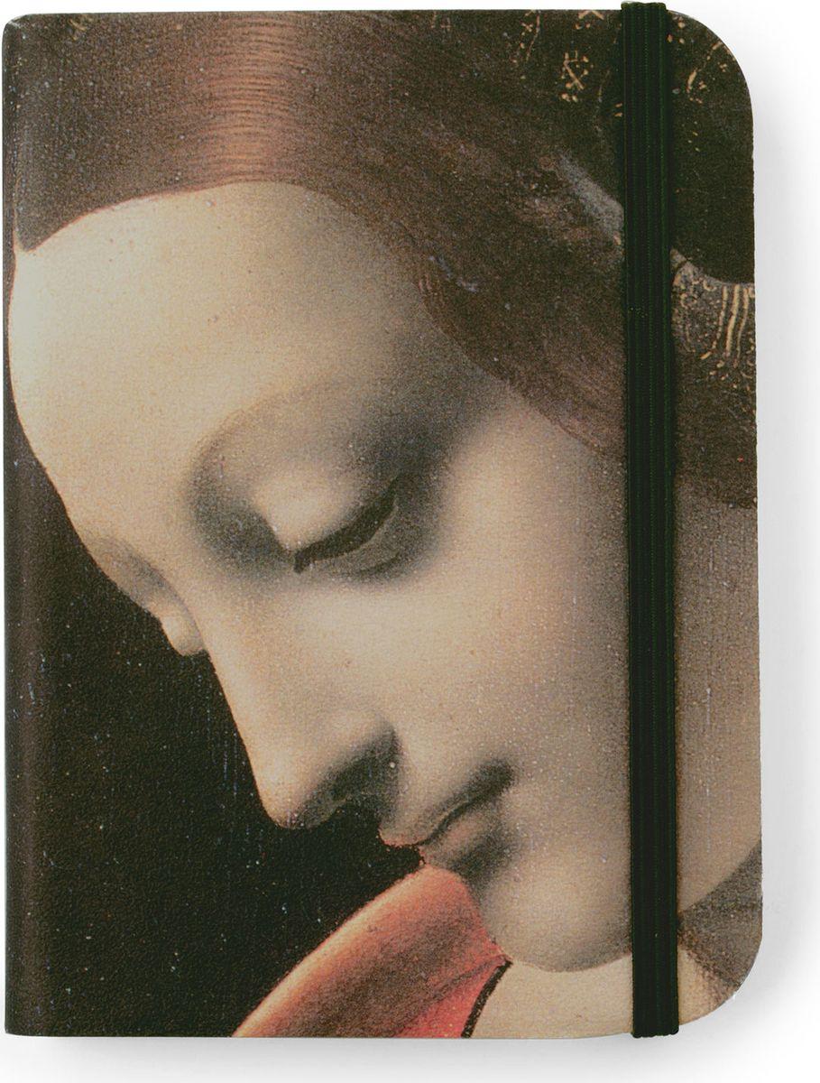 Власта Записная книжка Мадонна с младенцем 240 листов2174051Записная книжка от Власта Мадонна с младенцем - на обложке скетчбука - фрагмент картины. Вся картина (без фрагментирования) представлена на форзаце. Под картиной указаны ее название, имя художника и название музея, в котором хранится произведение. Сзади (на нахзаце) карманчик для мелочей. В нем разлинованный листок, который нужно подкладывать под страничку при письме. На форзаце есть место для вписывания имени владельца книжки.