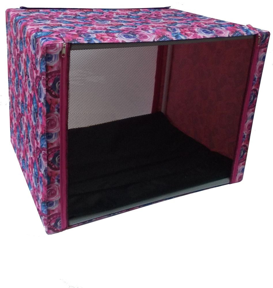 Палатка выставочная  Заря-плюс , с чехлом, цвет: розовый, сиреневый, 76 х 56 х 56 см