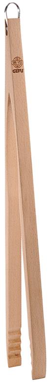 Щипцы для гриля Gefu, длина 48 см11810Деревянные щипцы Gefu идеально подходят для переворачивания ваших блюд на гриле. Металлическая петля у основания облегчает хранение непосредственно на гриле, поэтому щипцы всегда под рукой.Длина щипцов: 48 см.