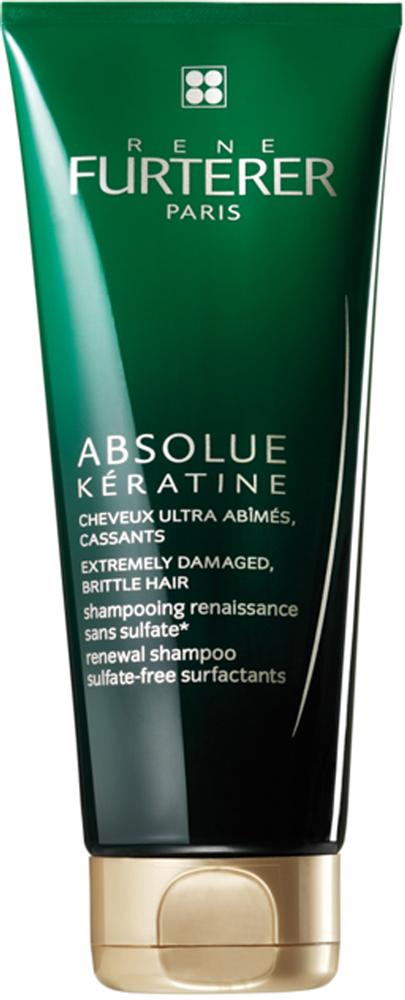 Rene Furterer Absolue Keratine Восстанавливающий шампунь для экстремально поврежденных, ломких волос, 200 мл3282770030006Шампунь рекомендуется для сильно поврежденных и ломких волос. Не содержит силиконы и сульфаты. Создает богатую, деликатно ароматизированную пену. Волосы чистые, мягкие, блестящие, легко расчесываются. Идеально подходит для восстановления волос после выпрямления и окрашивания. Благодаря уникальным растительным компонентам восстанавливает не только кутикулу, но кортекс волоса.