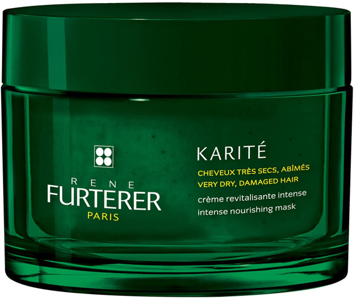 Rene Furterer Karite Питательный крем-бальзам для очень сухих и поврежденных волос, 200 мл3282779354677Крем-бальзам - это насыщенная кремовая маска, с высоким содержанием масла карите, для интенсивного питания волос. Мгновенно возвращает мягкость и шелковистость даже очень сухим волосам. Обладает превосходными восстанавливающими свойствами. Облегчает расчесывание. Волосы становятся более сильными и эластичными.
