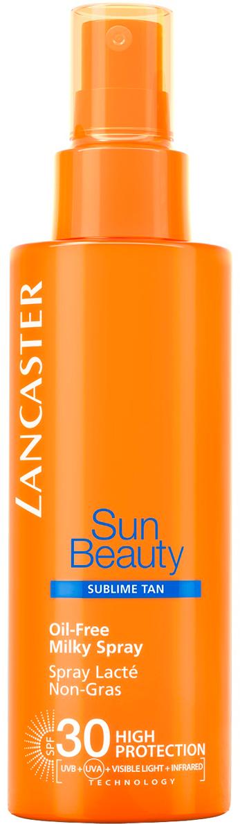 Lancaster Body Protection Молочко-спрей солнцезащитное для тела spf 30, 150 мл40333114000Благодаря более совершенной защите кожа сохраняет свою красоту надолго. Загар становится золотистым, красивым и сохраняется длительное время, а кожа идеально увлажненная и шелковистая.