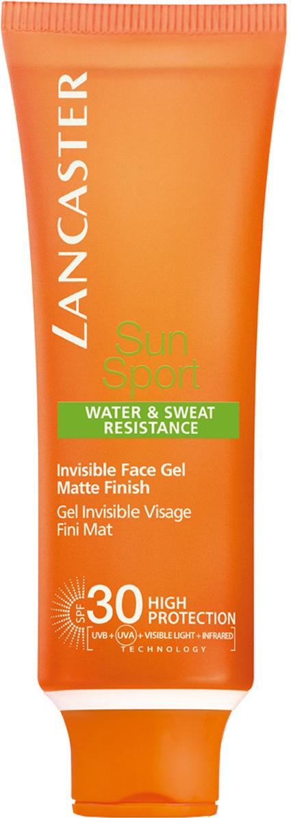 Lancaster Sun Sport Солнцезащитный гель для загара лица spf 30, 50 мл40777295000Полная защита кожи благодаря Full Light Technology -100 % от всех видов лучей Увлажнение кожи Нанесение на сухую и влажную кожу Быстро впитывается, не оставляет следов. Создает эффект матовой кожи