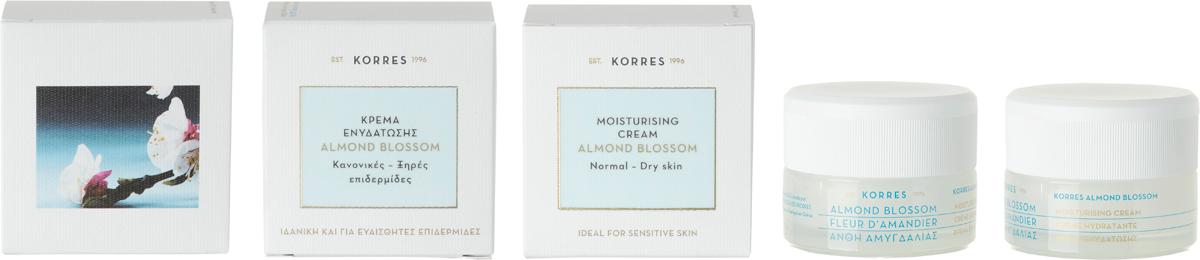 Korres Крем увлажняющий для нормальной и сухой кожи Цветы миндаля, 40 мл520306905620896,3% натуральных ингредиентов. Быстро впитывающийся крем интенсивно увлажняет и питает кожу. Идеально подходит для чувствительной кожи. В состав крема входят такие ценные водосвязующие ингредиенты, как экстракт миндаля, миндальное масло и два типа гиалуроновой кислоты, которые усиливают NMF кожи (Натуральный Увлажняющий Фактор), оптимизируя уровень увлажнения эпидермиса. Почему именно компоненты миндального дерева стали основой линий Поскольку увлажнение имеет важное значение для здоровья кожи, Лаборатории исследований и разработок Korres предлагают новую линию с новой концепцией увлажнения. Формула сочетает в себе три увлажняющие системы, основанные на преимуществах греческого органического миндаля. Новый уход отвечает потребности кожи в непрерывном глубоком многоуровневом увлажнении - даже для чувствительной кожи - вне зависимости от возраста.