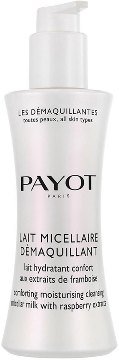 Payot Les Demaquillantes Молочко очищающее мицеллярное для всех типов кожи, 200 мл65108264Очищающее мицеллярное молочко, для всех типов кожи деликатно удаляет любые загрязнения и макияж. Увлажняет и смягчает кожу, восстанавливает биологический баланс кожи, сохраняя ее молодость.