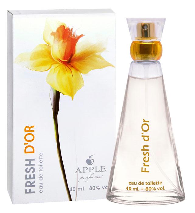 Apple Parfums Туалетная вода Fresh D'Or женская 40ml