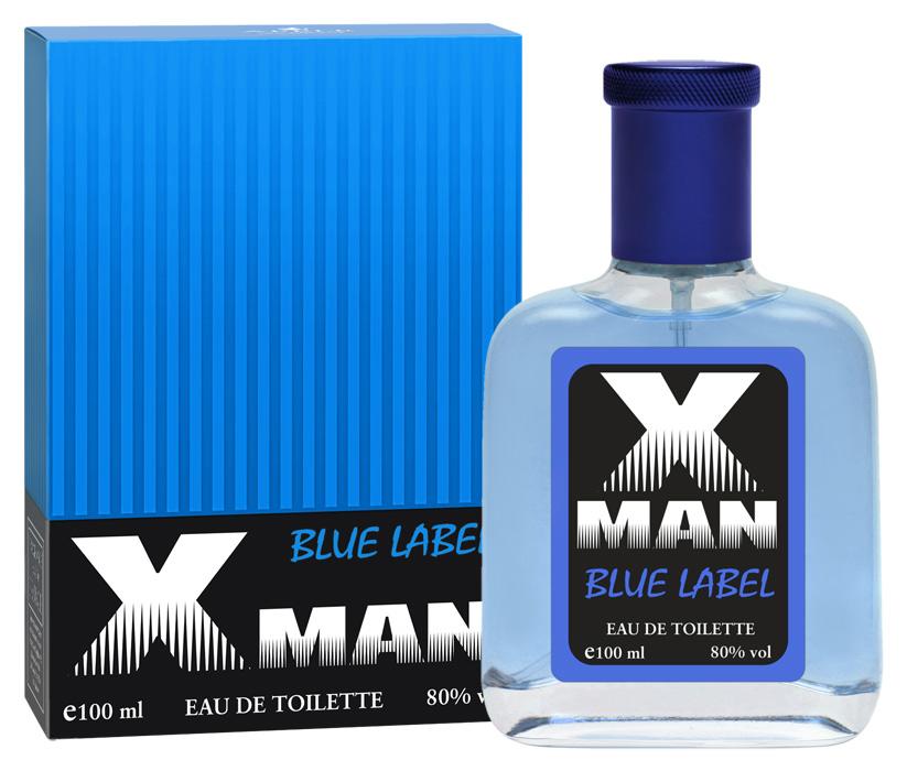 Apple Parfums Туалетная вода X Man Blue Label мужская 10010Начальные ноты:бергамот, грейпфрут. Ноты сердца:кардамон, перец, лаванда, давана. Базовые ноты:ветивер, белый кедр, олибанум