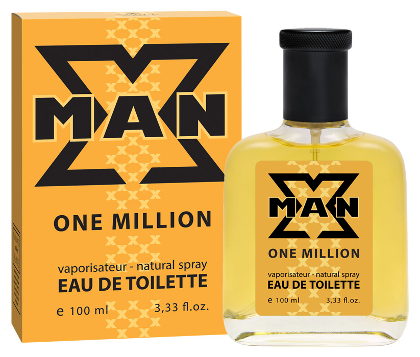 Apple Parfums Туалетная вода X Man One Million мужская 100ml