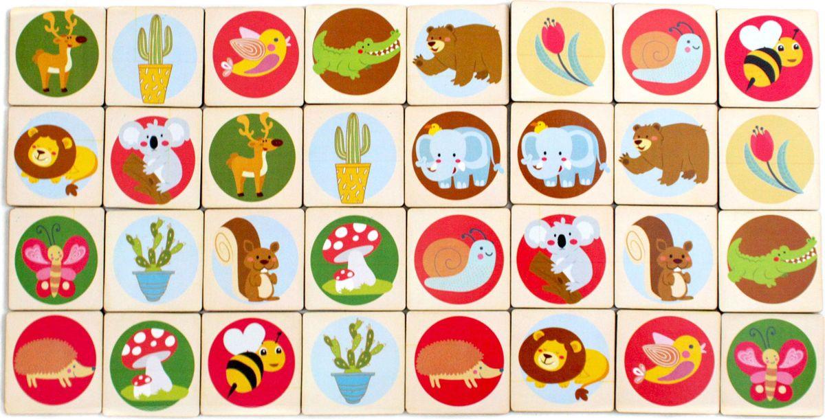 Карточки с парными картинками для детей