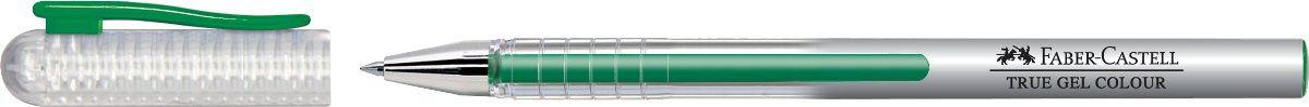 Faber-Castell Ручка гелевая True Gel цвет чернил зеленый242663Гелевая ручка Faber-Castell True Gel имеет наконечник 0,7 мм. Ручка обладает очень мягким письмом.Ручка имеет водостойкие и светостойкие чернила; эргономичную зону захвата; колпачок с упругим клипом.