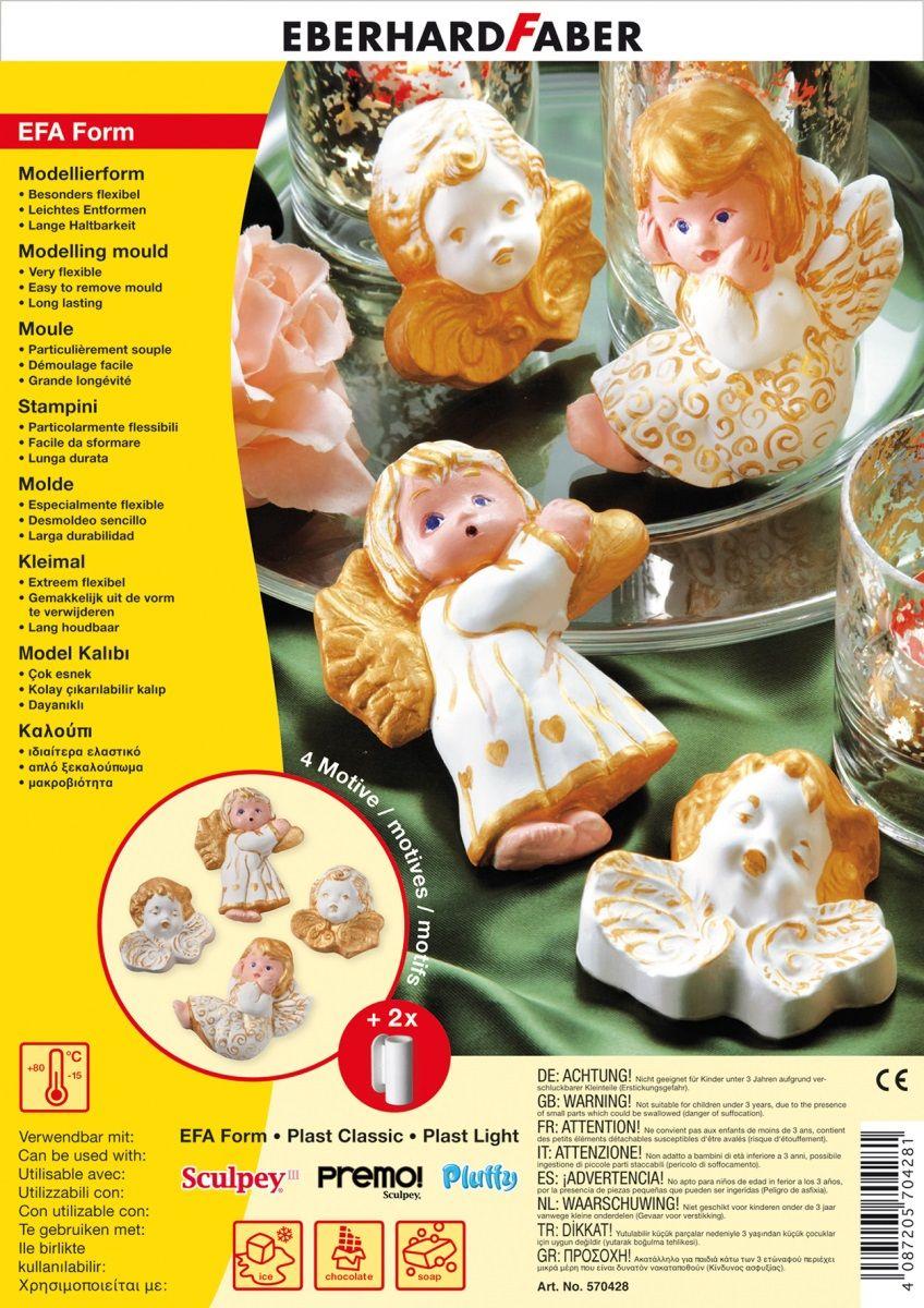 Eberhard Faber Набор формочек для лепки Ангелы -  Пластилин
