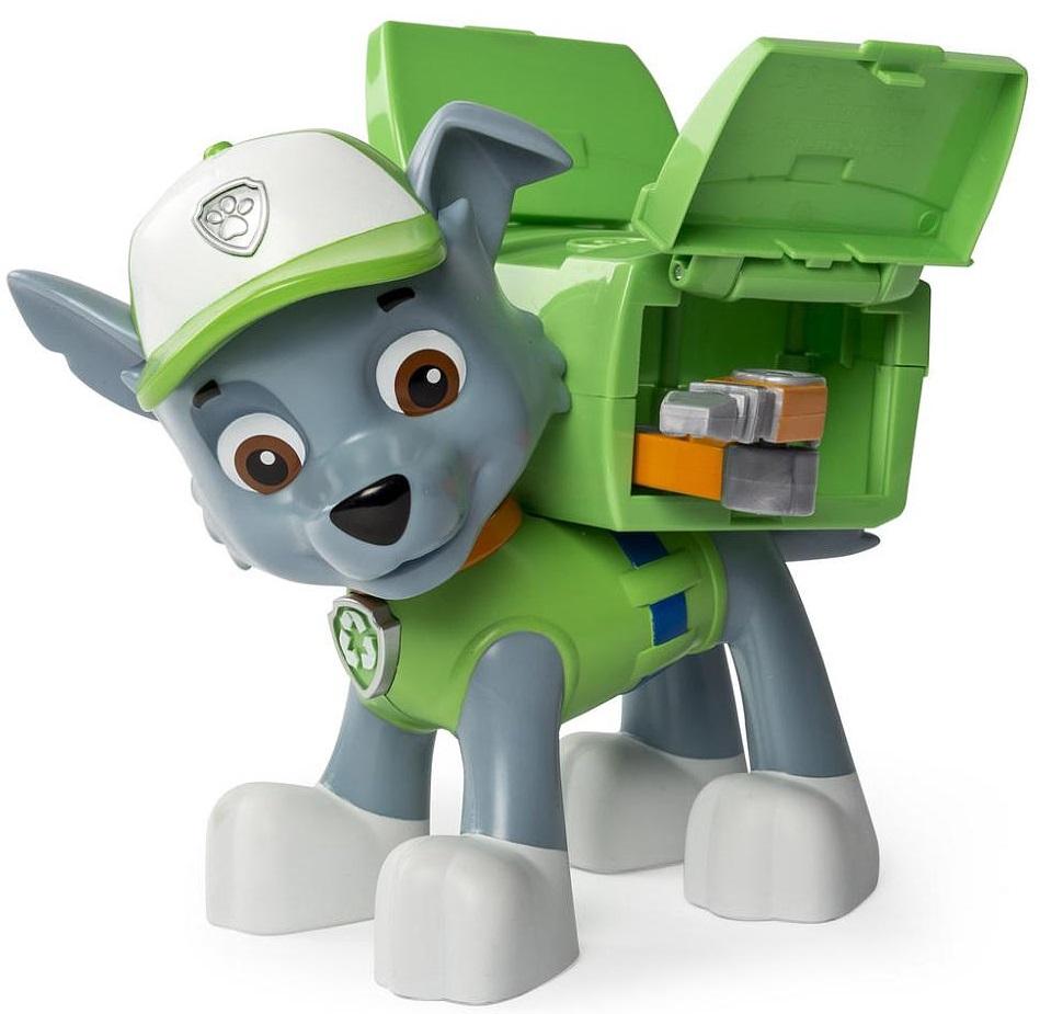Paw Patrol Фигурка Jumbo Action Pup Rocky - Фигурки
