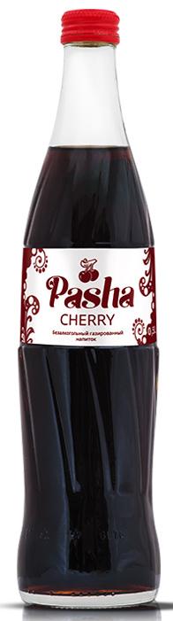 Pasha Cherry лимонад, 0,5 л0120710Освежающий безалкогольный газированный напиток со вкусом вишнёвой колы.Пейте охлажденным! Допускается осадок, обусловленный особенностями используемого сырья.