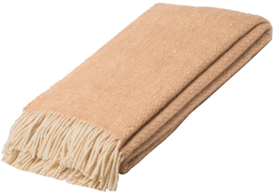 Плед Руно Монреаль, цвет: бежевый, 140 х 200 см. 1-291-140(01)FD-59Плед Руно Монреаль гармонично впишется в интерьер вашего дома и создаст атмосферу уюта и комфорта. Чрезвычайно мягкий и теплый плед с кистями изготовлен из натуральной овечьей шерсти. Высочайшее качество материала гарантирует безопасность не только взрослых, но и самых маленьких членов семьи.Плед - это такой подарок, который будет всегда актуален, особенно для ваших родных и близких, ведь вы дарите им частичку своего тепла!
