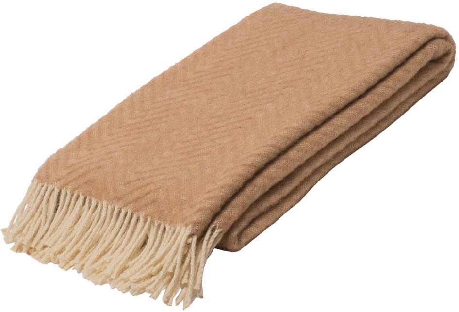 Плед Linea Lore Breeze, 140 х 200 см. 1-551-140 (01)FD-59Плед Linea Lore, выполненный из 100% шерсти, послужит теплым, мягким и практичным подарком близким людям. Натуральная овечья шерсть, благодаря свойству терморегуляции, великолепно согревает, позволяя вашей коже дышать. Такой плед идеально подойдет для дачного отдыха: он очень пригодится, как только захочется укутаться, дыша вечерним воздухом, выручит, если приехали гости, и всегда под рукой, когда придет в голову просто полежать на траве!