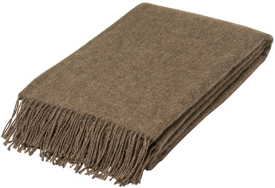 Плед Руно Финляндия, цвет: коричневый, 140 х 200 см. 1-671-140(01)FD-59Плед Руно гармонично впишется в интерьер вашего дома и создаст атмосферу уюта и комфорта. Чрезвычайно мягкий и теплый плед с кистями изготовлен из качественного материала на основе натуральной шерсти. Высочайшее качество материала гарантирует безопасность не только взрослых, но и самых маленьких членов семьи.Плед - это такой подарок, который будет всегда актуален, особенно для ваших родных и близких, ведь вы дарите им частичку своего тепла!