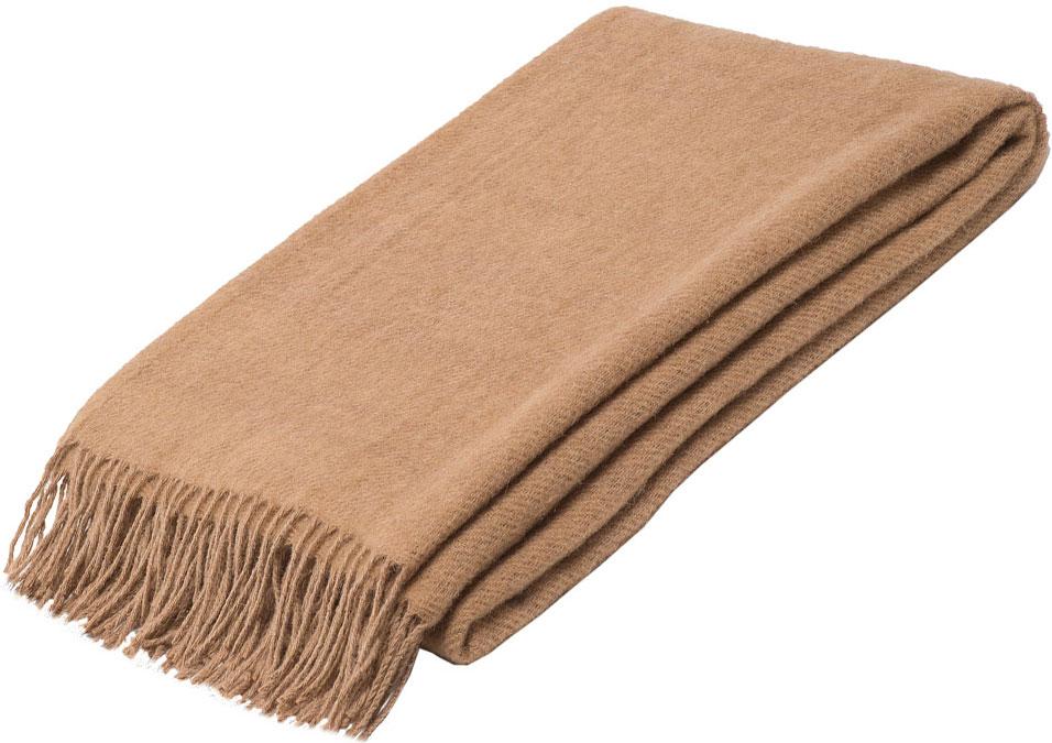 Плед Руно Ямайка, цвет: бежевый, 140 х 200 см. 1-691-140 (02)1-451-140 (01)Плед Руно гармонично впишется в интерьер вашего дома и создаст атмосферу уюта и комфорта. Чрезвычайно мягкий и теплый плед с кистями изготовлен из качественного материала на основе натуральной овечьей шерсти. Высочайшее качество материала гарантирует безопасность не только взрослых, но и самых маленьких членов семьи.Плед - это такой подарок, который будет всегда актуален, особенно для ваших родных и близких, ведь вы дарите им частичку своего тепла!
